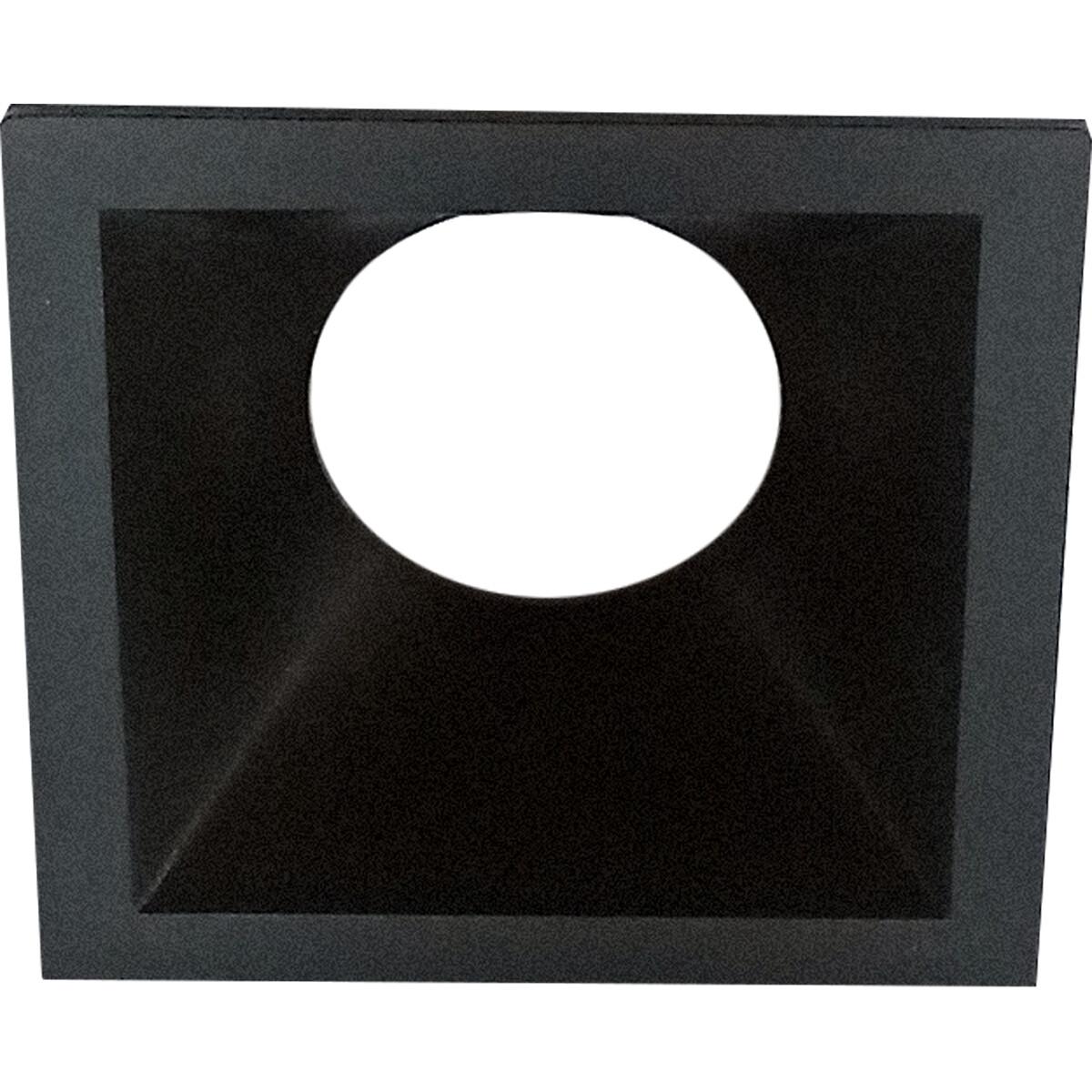 Spot Ring - Pragmi Cliron Pro - Vierkant - Mat Zwart