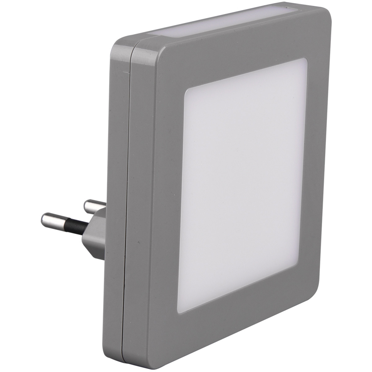 Stekkerlamp Lamp - Stekkerspot met Dag en Nacht Sensor Incl. Schakelaar - Trion Hiko - 0.3W - Warm W