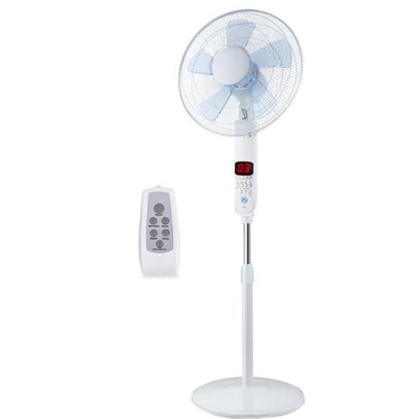 Ventilator - Aigi Ocyna - Statiefventilator - Afstandsbediening - Staand - Rond - Mat Wit - Kunststo