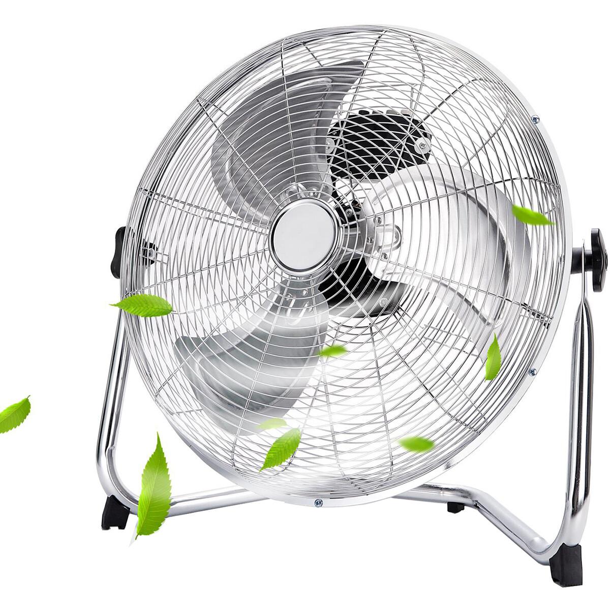 Ventilator - Aigi Tornimo - Vloerventilator - Staand - Rond - Mat Wit - Kunststof