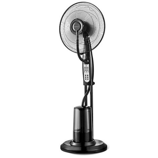 Ventilator met Water - Aigi Bery - Mistventilator voor Binnen - Statiefventilator - Staand - Rond -